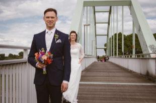 Sofia Wagner Fotografie Hochzeit in Köln Niehler Hafen First Look